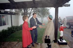 The Queen & Prince Philip with President Ronald Reagan